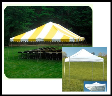 Pole Tents and Pop-Up Tents