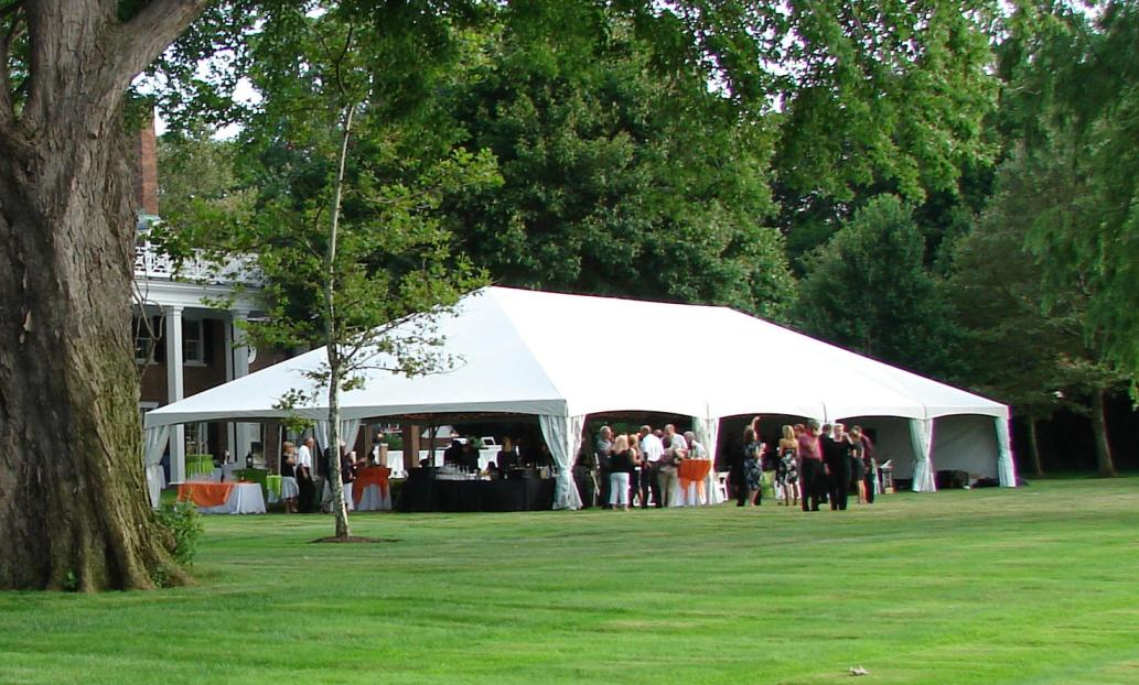 Click on image to view Quick Track Frame Tent Gallery. & Parties To-Go