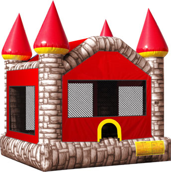Castle Bouncer (14u0027x 15u0027x 14u0027)  sc 1 th 225 : jumping tent - memphite.com