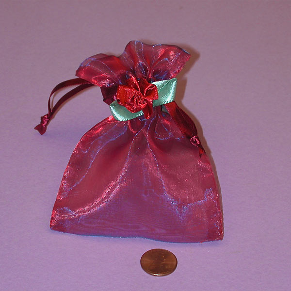 Ruby Wedding Gift Bags : Favor Bags