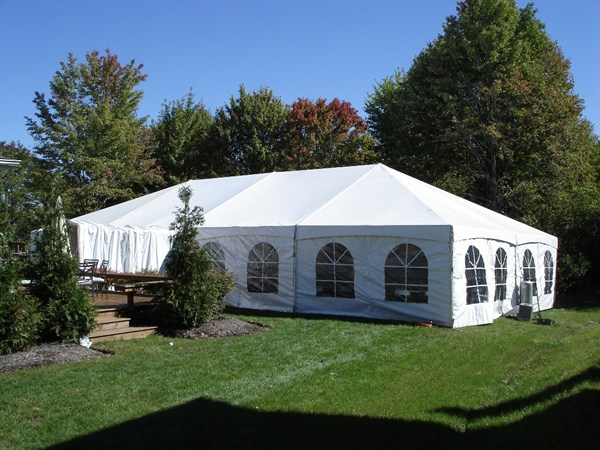 Quick Track Frame Tent Gallery