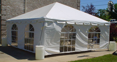 frame tents for rent